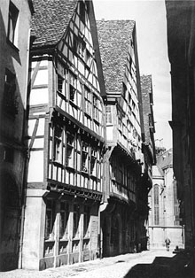 Picture shows the birthplace of Adolf Cluss in Heilbronn