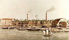 Washington Navy Yard, 1860s