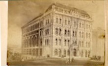 Unidentified building (maybe War Department building), ca. 1867