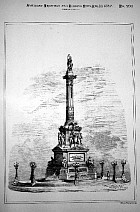 National Monument of Mexican Independence, 1886