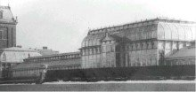 Department of Agriculture Conservatory, north and west fa�ades, ca. 1870