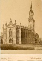 Lutheran Memorial Church, design, ca. 1867