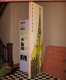 Adolf Cluss Churches - exhibition in the Calvary Baptist Church
