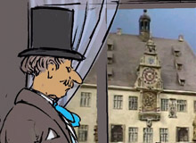 Virtual walk through Old Heilbronn
