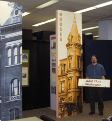 Adolf Cluss Buildings - exhibition in the Martin Luther King Library, Washingtoniana Division